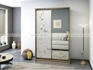 Шкаф-купе Виктори 1,5 - Мебельная фабрика «Астрид-Мебель (Циркон)»