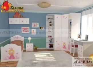 Детская Принцесса 1 - Мебельная фабрика «Галина»