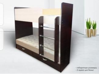 Кровать двухъярусная - Мебельная фабрика «Лидер», г. Ульяновск