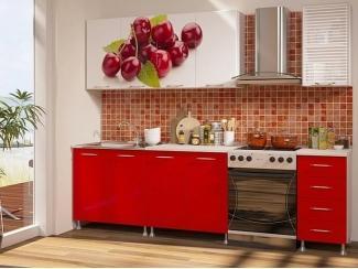 Кухня с фотопечатью 006 - Мебельная фабрика «Гранд Мебель»
