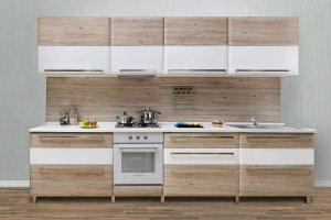 Прямая кухня модерн Вероника - Мебельная фабрика «Астмебель»