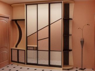 Прихожая прямая оригинальная - Изготовление мебели на заказ «Мега»