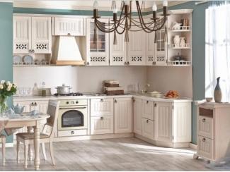 Кухня в стиле прованс Амели - Мебельная фабрика «Любимый дом (Алмаз)» г. Волгодонск