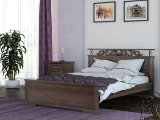Кровать Ирида резная - Мебельная фабрика «Каприз»