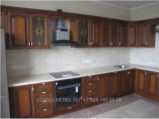Кухня из массива 0739 - Мебельная фабрика «ЛюксБелМебель»
