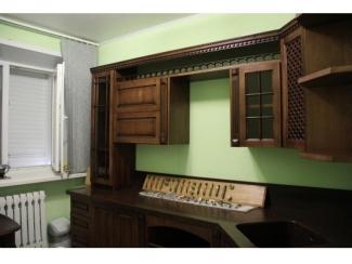Кухня  Цезарь  из массива дуба - Мебельная фабрика «Лидер Массив», г. Тамбов