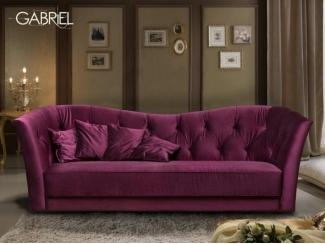 Диван прямой Габриэль - Мебельная фабрика «Lorusso divani»