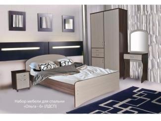 Набор мебели для спальни Ольга 6 - Мебельная фабрика «МВМ», г. Волжск