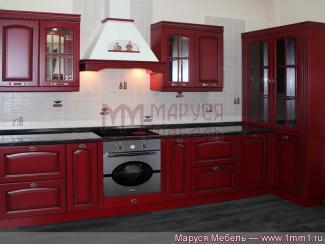 Кухня прямая Современная классика массив - Мебельная фабрика «Маруся мебель»