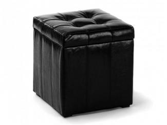 Пуф черный ПФ-2 - Мебельная фабрика «Вентал»