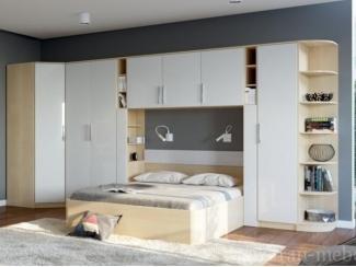 Светлая спальня Николь  - Мебельная фабрика «Фран»