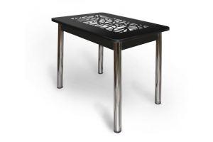 Стеклянный ажурный стол АС 005 - Мебельная фабрика «Александрия», г. Ульяновск