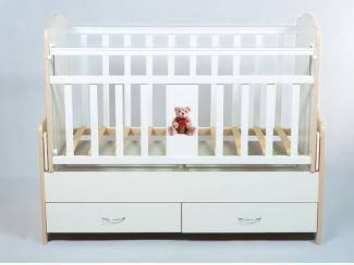 Детская кроватка КДМ Мишки - Мебельная фабрика «Папа Карло»