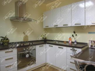 Кухня Белая с рисунком