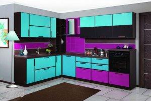 Угловая кухня Ассорти - Мебельная фабрика «Трио»