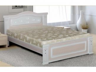 Удобная белая кровать М 14 - Мебельная фабрика «Селена»