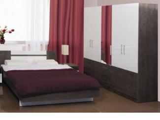 Спальный гарнитур «Элегия 5» - Мебельная фабрика «Элегия»