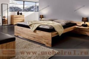 Спальня  Хайтек 2 - Мебельная фабрика «Лидер Массив»
