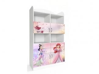 Двойной пенал в детскую Принцессы 2 - Мебельная фабрика «Астера»