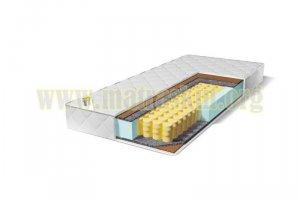 Матрас детский Колокольчик  на независимом пружинном блоке TFK (256 пружин/м²) - Мебельная фабрика «Матраскин»