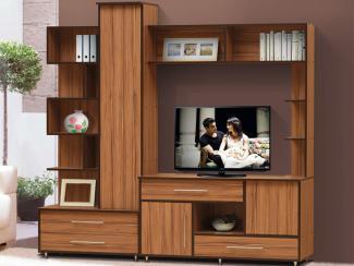 Гостиная стенка Волна-3 - Мебельная фабрика «Виктория»