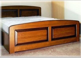 Кровать дубовая с ящиком - Мебельная фабрика «Мебель Парк» г. Москва