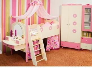 Детская для девочки  - Мебельная фабрика «Мебель СаЛе»