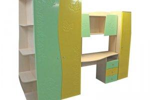 Детская стенка Арлекино - Мебельная фабрика «Мебельный Арсенал»