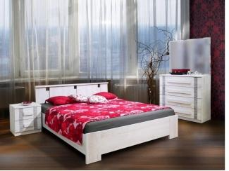 Кровать Андорра лайт - Мебельная фабрика «Еврокорпус»