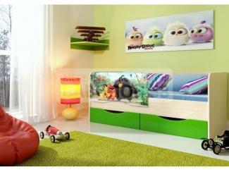 Кровать детская Энгри - Мебельная фабрика «Вавилон58» г. Заречный
