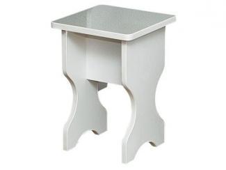 Белый табурет  - Мебельная фабрика «Иванов»