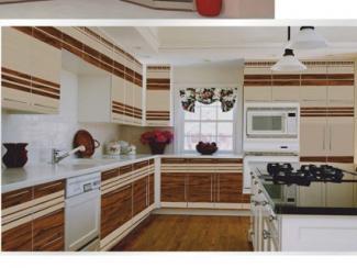 Кухня угловая Фотопечать 04 - Мебельная фабрика «Форт»
