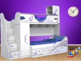 Детская кровать Леди 4 - Мебельная фабрика «Династия»