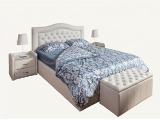 Белый спальный гарнитур - Мебельная фабрика «Уют»