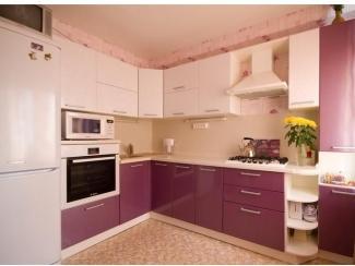 Бело-розовая кухня - Мебельная фабрика «Найди»