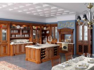 Кухня Страдивари массив - Мебельная фабрика «Илья-Сейф (Добрые кухни)»