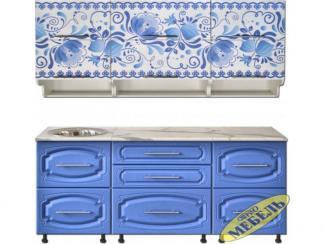 Кухня прямая 43 - Мебельная фабрика «Трио мебель»