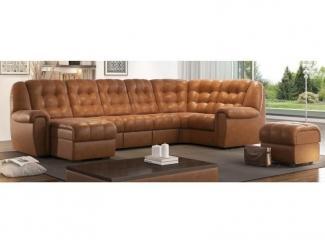 Угловой диван с оттоманкой Франклин