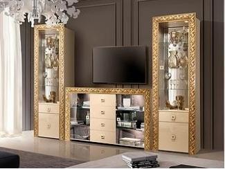 Модульная гостиная Тиффани Премиум  - Мебельная фабрика «Ярцево»