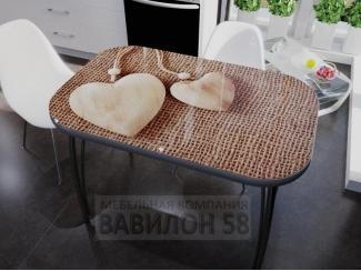 Стол с фотопечатью Кулон - Мебельная фабрика «Вавилон58»