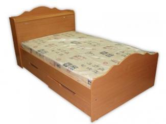 Кровать с тумбой для белья