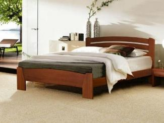 кровать Селена 7 массив бука - Мебельная фабрика «Диамант-М»