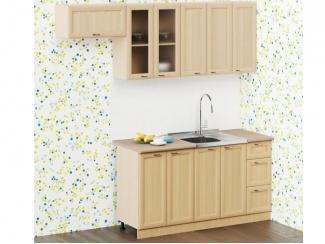 Светлый модульный кухонный гарнитур