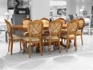 Стол Азия, стул ОРИОН-2  - Импортёр мебели «ДИК»