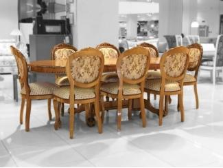 Обеденная группа Стол Азия, стул ОРИОН-2 - Импортёр мебели «ДИК»