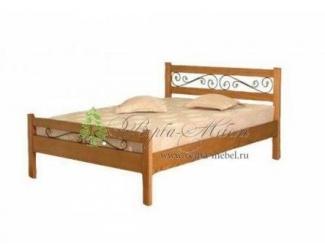 Кровать Венеция с ковкой - Мебельная фабрика «Верба-Мебель», г. Муром