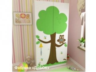 Детский  двухстворчатый Шкаф - Мебельная фабрика «Дубок»