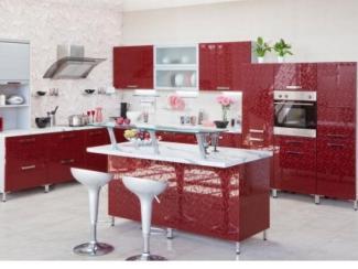 Кухонный гарнитур «ГЛОСС » (Модерн) - Мебельная фабрика «Янтарь»