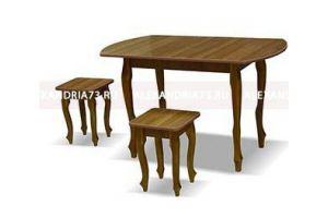 Стол Европейский ноги венецианские - Мебельная фабрика «Александрия», г. Ульяновск
