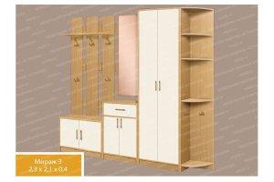 Прихожая 15 Мираж 3 - Мебельная фабрика «МФА»